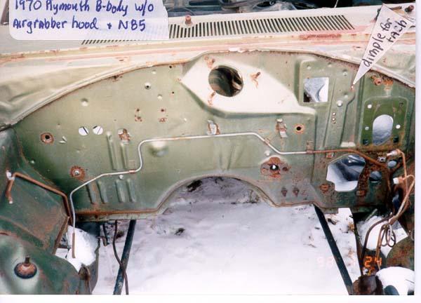 1970 B Tach Wiring Harness